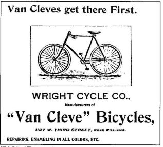wright brothers bicycles