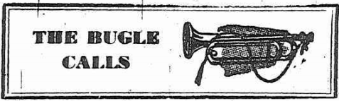 The Bugle Calls