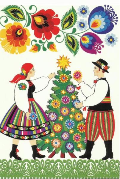 Polish Christmas Card