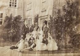 Captain Edward Bradford & Elizabeth Knight's wedding // Chawton House, 1865