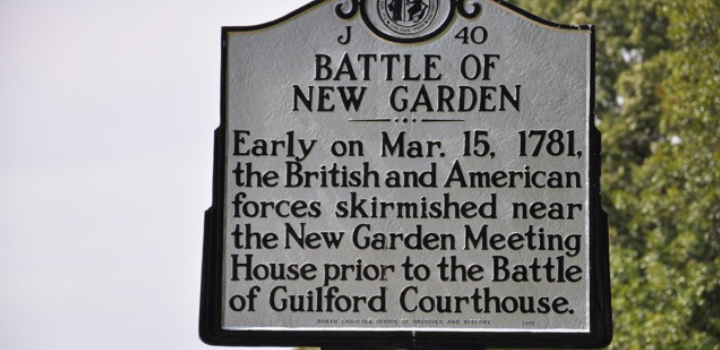 Meet at the Meeting House: The Battle of NewGarden