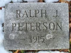 Peterson, Ralph
