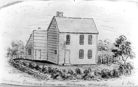 Samson Occom's House, Montville, Connecticut