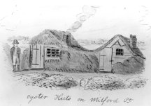 Oyster Huts on Milford Point
