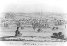 View of Farmington from Round Hill